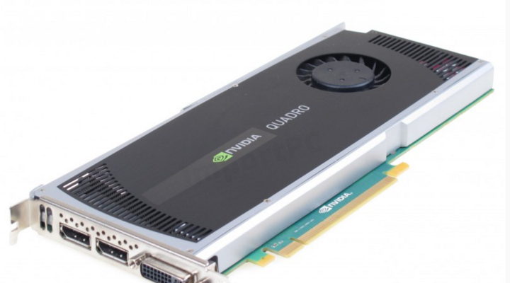 Grafické karty - nVidia Quadro 4000
