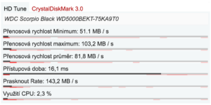 HP ProBook 6560b - HDD