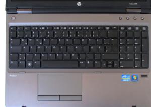 HP ProBook 6560b - klávesnice
