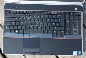 Dell Latitude E6520 - klávesnice