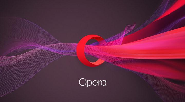 Logo Opera prohlížeč